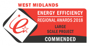 2018 West Midlands Energy Efficiency Awards - Commended
