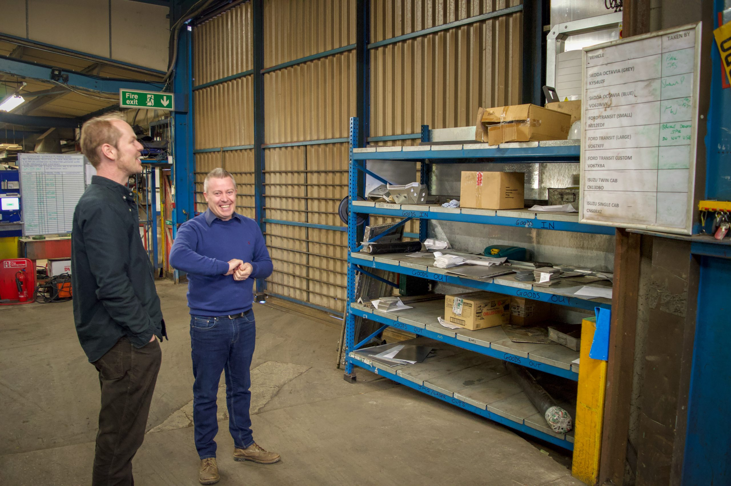 Business Energy Advisor Neil discusses improvements with GM of Grail Engineering