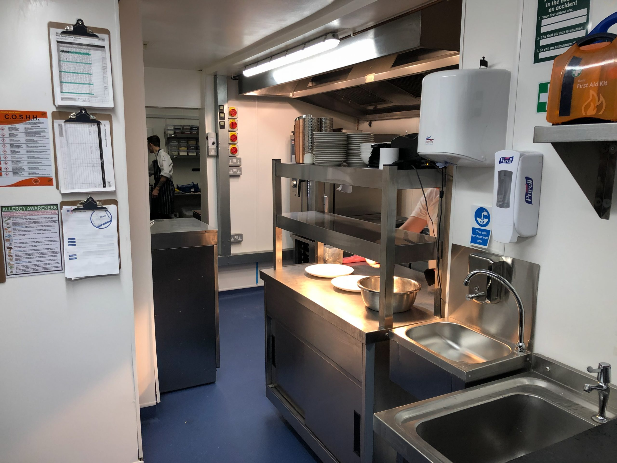 upgraded catering facilities at the Lyon Inn